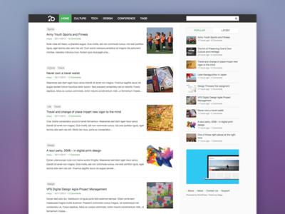 EverBox wordpress web website theme blog ui free