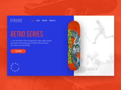 Minimal Skateshop eCommerce