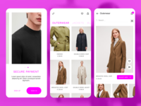 Fashion E-commerce Mobile App UI Design