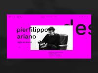 PFLRN Personal Portfolio Website