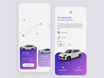 Daily UI #20 | Location Tracker gps booking app mobile app car app car rental car share car sharing location tracker location app tracker daily ui 020 daily ui dailyuichallenge daily ui challenge dailyui redesign concept ux interface ui