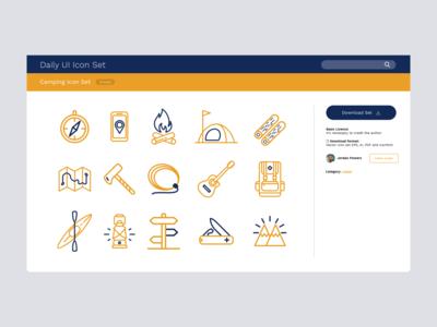 Daily UI #55   Icon Set