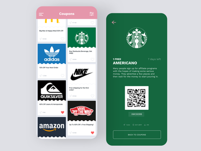 Daily UI #61 | Redeem Coupon discount code discount starbucks redeemer redeem redeem coupon coupon codes coupon code coupons daily ui 061 daily ui ecommerce dailyuichallenge daily ui challenge dailyui redesign concept ux interface ui