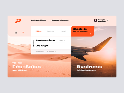 Daily UI #68 | Flight Search check-in flight website booking website booking app flight flight booking flight app flight search daily ui 68 daily ui dailyuichallenge daily ui challenge dailyui redesign concept ux interface ui