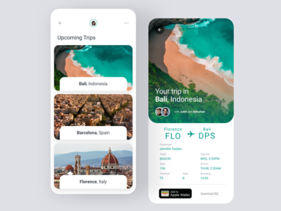 Daily UI #79 | Itinerary