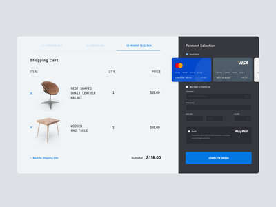 Daily UI #82 | Form furniture payment app credit card credit card checkout credit cards payment online form online shopping online shop ecommerce daily ui dailyuichallenge daily ui challenge dailyui redesign concept ux interface ui