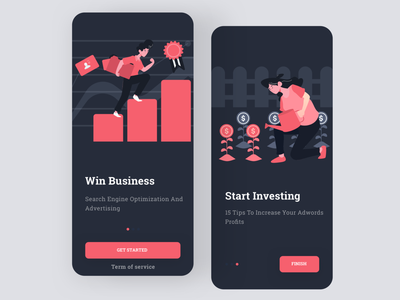 Daily UI #93 | Splash Screen daily 100 investing business illustration splash splashscreen splashpage splash screen splash page daily 100 challenge daily ui 093 daily ui dailyuichallenge daily ui challenge dailyui redesign concept ux interface ui