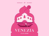 Venezia dribbble meetup teaser