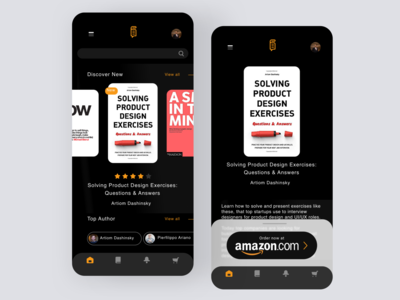 Daily UI #98 | Advertisement adv advert advertise ads amazon advertising advertisement advertisements book shop daily ui 098 ecommerce daily ui dailyuichallenge daily ui challenge dailyui redesign concept ux interface ui