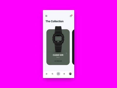 Watch Shop UI Animation invisionapp watch ecommerce ecommerce shop ecommerce design detail page animation design interaction design interactive design watch app invisionstudio invision studio invision online store ecommerce app redesign concept ux interface ui