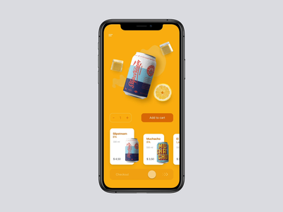 Beer Shopping App Interaction orders beer can beer shop app transition ecommerce design ecommerce shop ecommerce app online shop food app food mobile ecommerce cart interaction shopping app concept ux interface ui