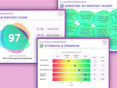 Talent assessment report design