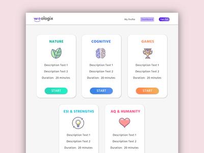 Talent assessment saas app design