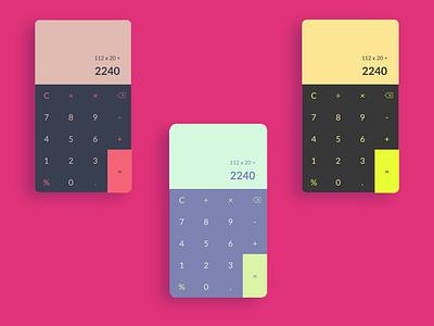 Calculator  - UI daily challenge 4 design web app uiux calculator design calculator ui dailyui 004 daily ui dailyuichallenge ui uidaily figmadesign figma