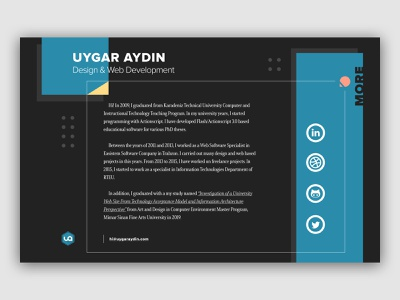 Personal Site personal design css grid web design