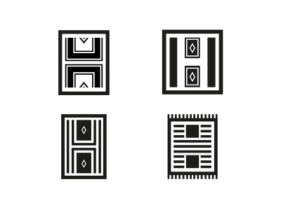 H letter - Carpet - News Explorations explorations flat minimal branding news carpet h letter letter logo graphic geometric simple design