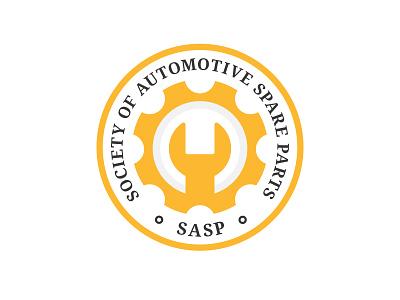 Spare Parts Society Consept logodesign symbol mark concept parts automotive society minimal flat spare parts branding geometric simple logo design