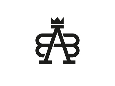 BAB Monogram ba bab bab monogram graphic letter branding simple minimal flat design lettermark logo monogram logo monogram