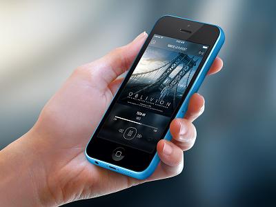 Écoute Prolongée ios iphone apple ios7 player music playlist