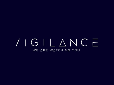 Vigilance vigilance logo identity