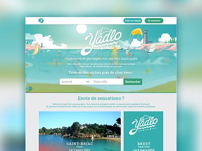 Yadlo webdesign design web sailing