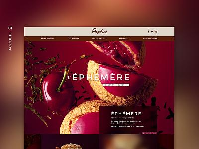 Popelini design design ui branding webdesign web