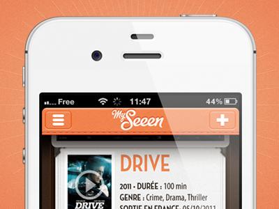 My Seeen •Screen 2 iphone app movie