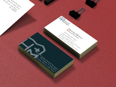 Health Strategies Hospital Managers | Business Card