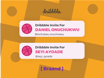 Welcome! welcome invite dribbble