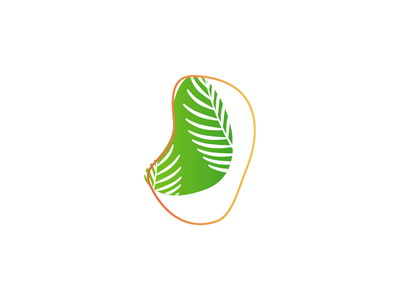 Tropigold sun tropical gold summer palm branding design logo