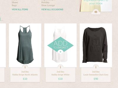 Womenswear Ecommerce