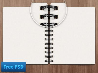 Notepad free psd