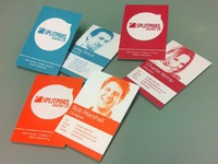 Splitpixel Business Cards