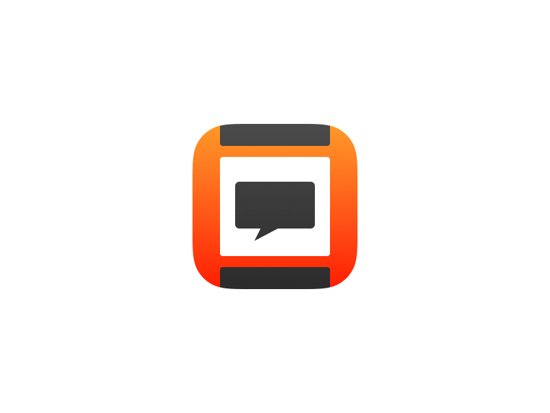 Pebble iOS App Icon by Den Talalá on Dribbble