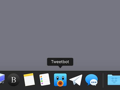 Tweetbot Replacement Icon orange blue tweetbot icon macos freebie replacement beak bird