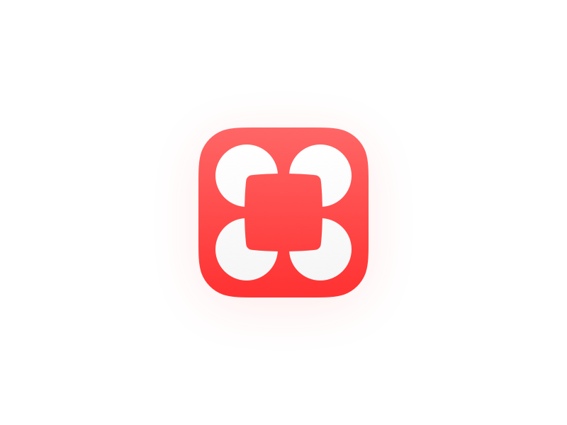 Chars 2 Icon red app icon ios chars