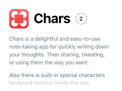 Chars 2 Intro