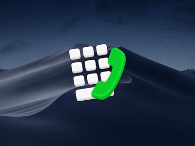 Numpad Icon mac apps icons mojave text facetime phone call keypad numpad
