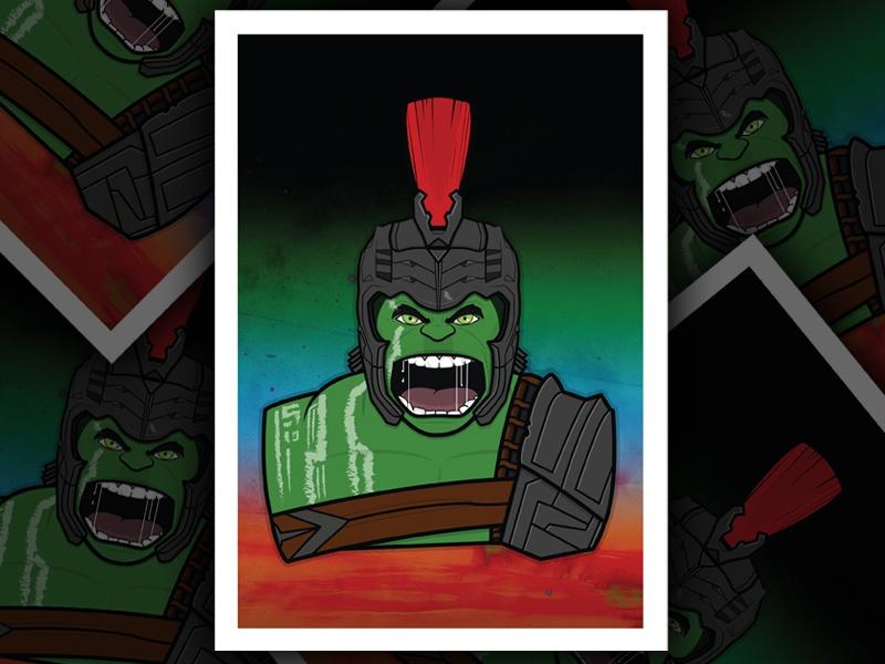 The Hulk avengers thor ragnarok print poster marvel the hulk hulk