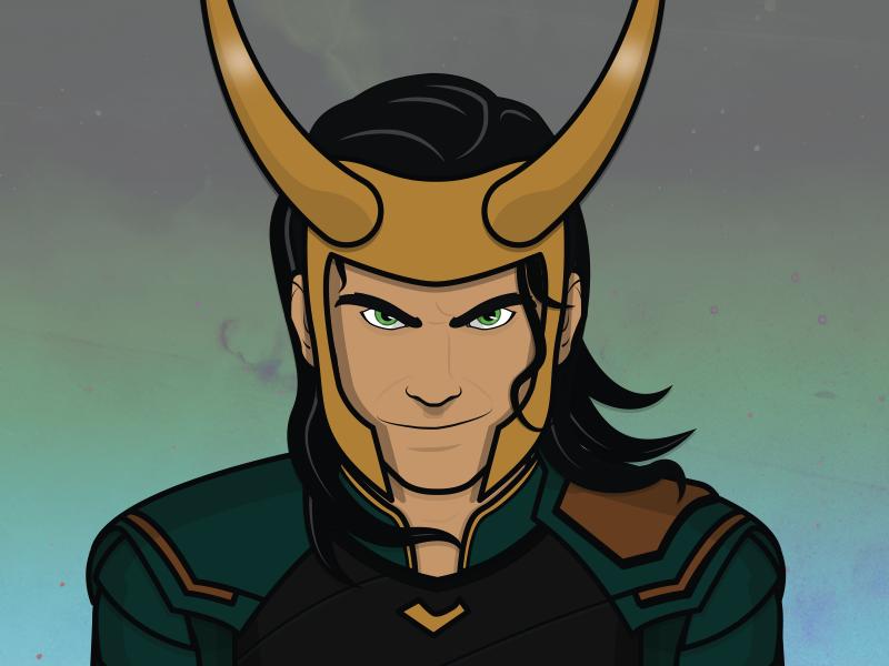 Loki By Matt Commons On Dribbble