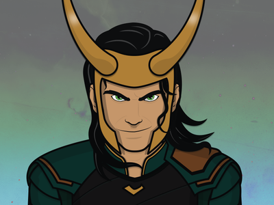 Loki thor marvel loki thor ragnarok avengers illustration fan art