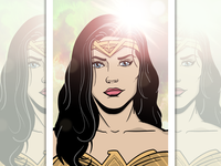 Wonder Woman illustration