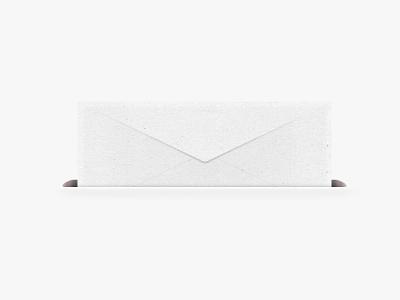 Envelope with letter inside photoshop illustration paper letter envelope