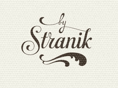 Stranik. Take two lettering typography type vintage swash flourishes cursive