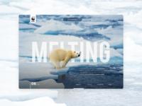 Save the Polar Bears Concept