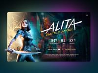 Alita Landing Page