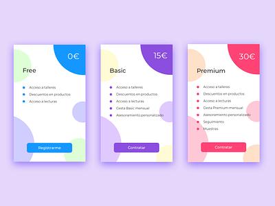 Daily UI 030 - Pricing wireframe pricing interface web typography userinterface uidesign minimal app dailyui design ux ui