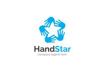 Hand Star Logo