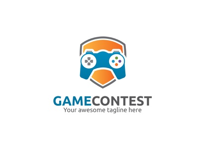 Game Contest Logo sport app game gaming app game app logo branding