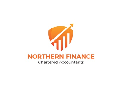 Northern Finance Logo financial finance logo branding